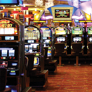Slot gaming Floor - Poconos casino PA
