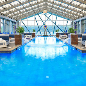 Get Wet Ultra Pool - Pocono indoor outdoor pool