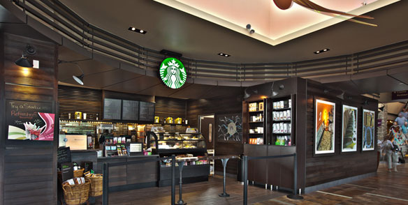 Mount Airy Casino Starbucks