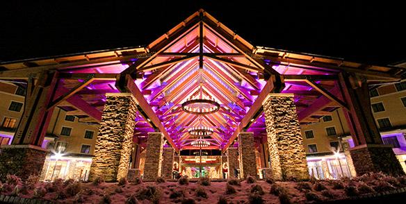 Hotel Exterior Winter - poconos resorts