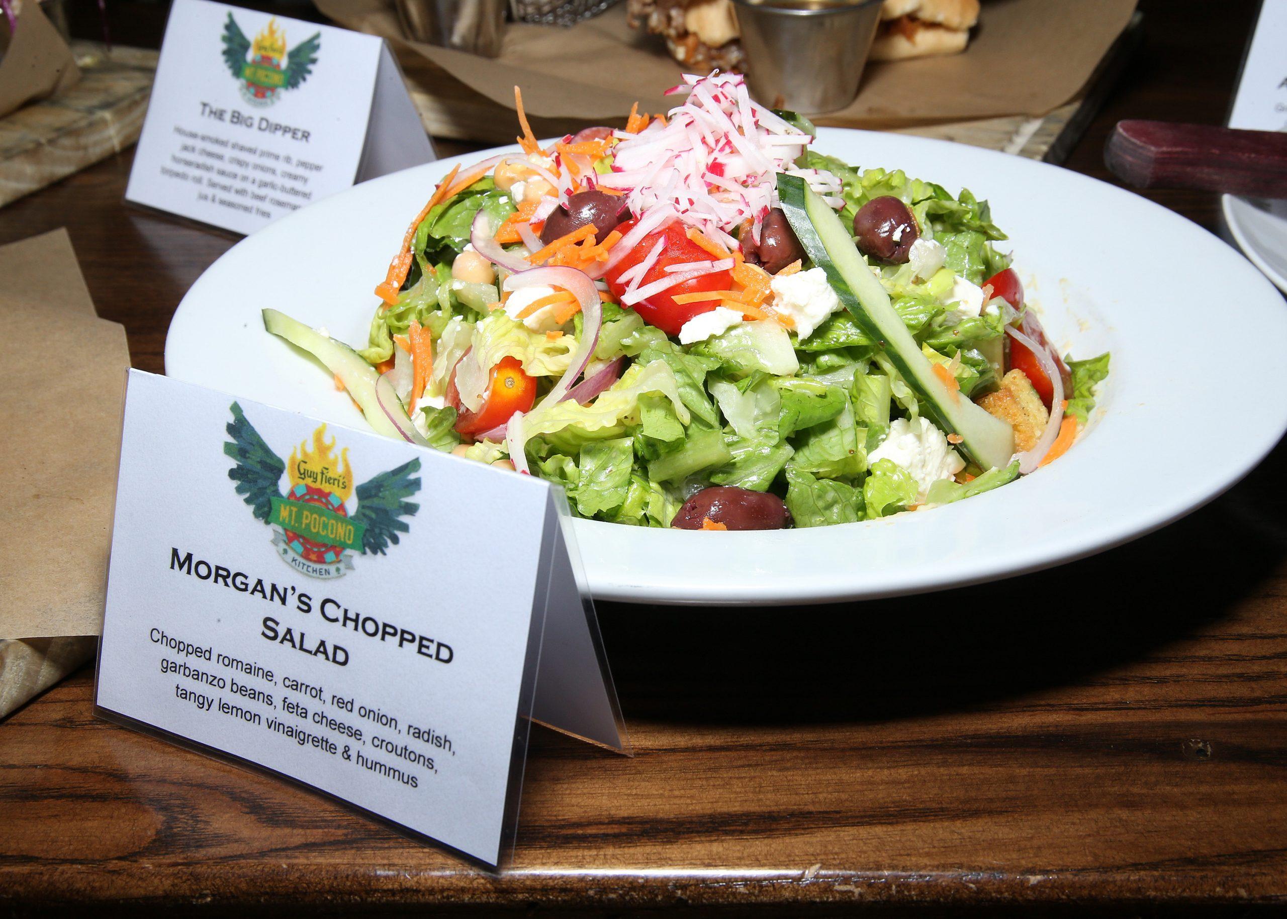 Mount Airy Casino Guy Fieri Morgan's Chopped Salad
