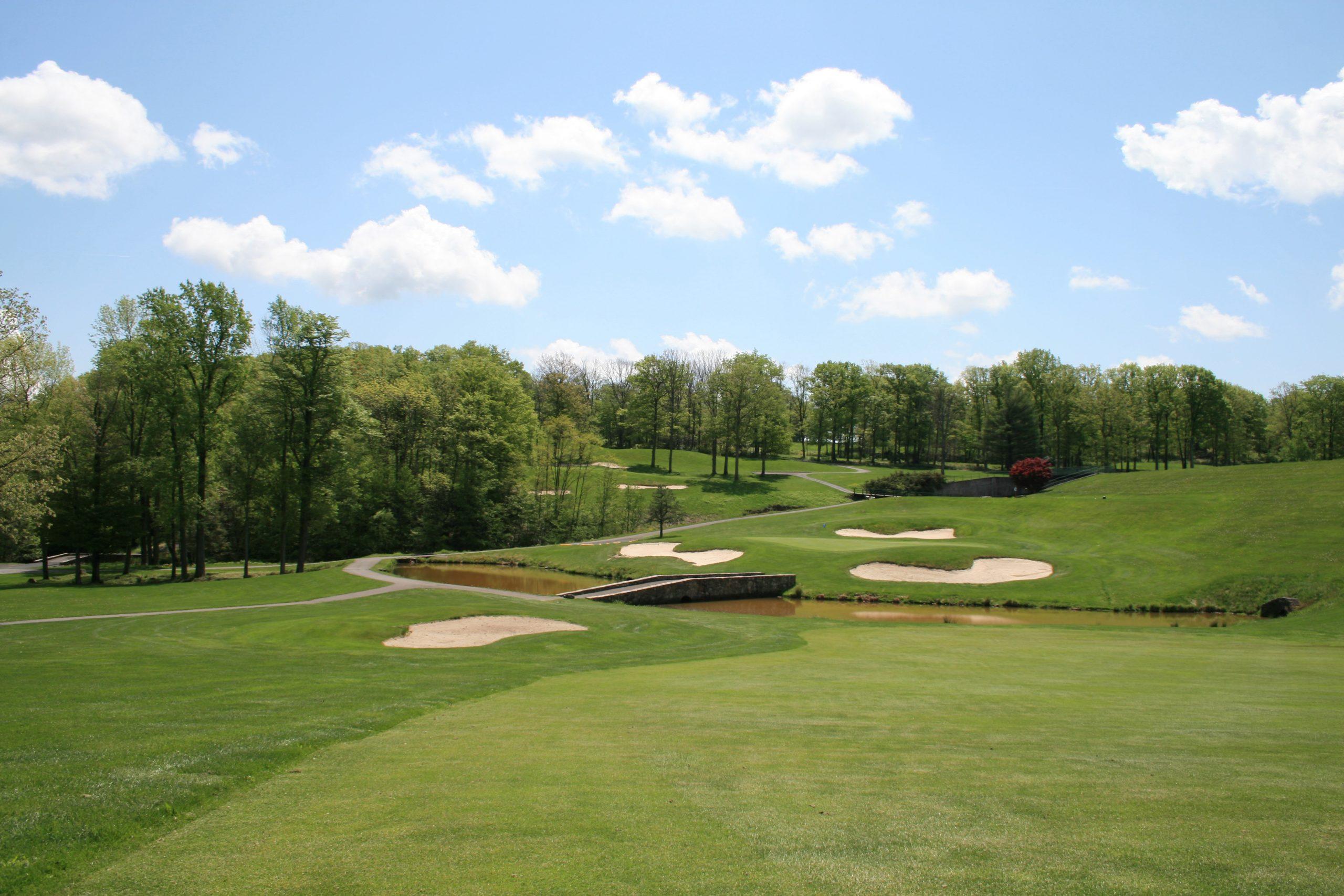 Golf bridge
