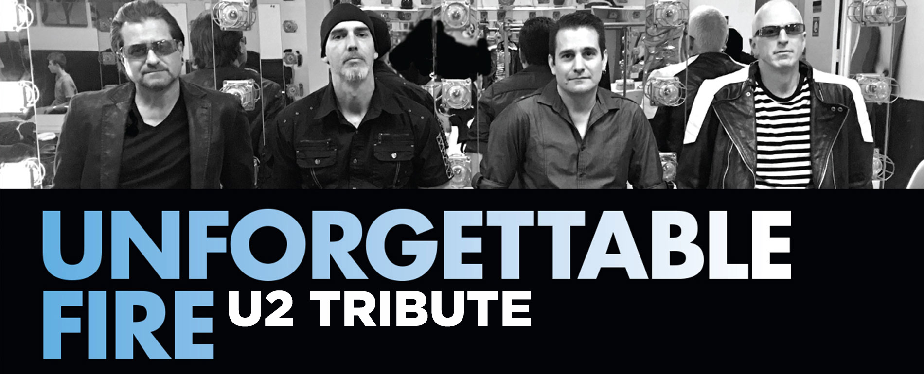 poconos live concert - unforgettable fire - u2 tribute