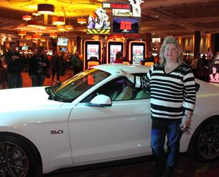 Mount Airy Casino Mustang Car Jackpot Winner