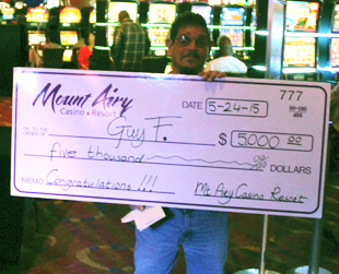 Jackpot Winner - Poconos PA