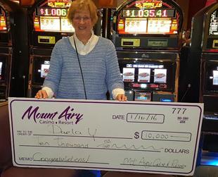 Mount Airy Casino Jackpot Winner