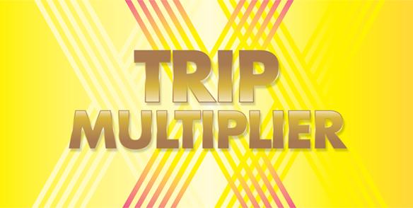 February Trip Multiplier