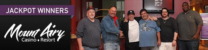 Mount Airy Casino Badbeat Jackpot Winners