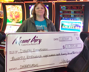 Poconos Casino Jackpot Winner
