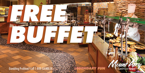 FREE BUFFET OFFER