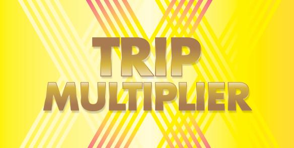 April Trip Multiplier