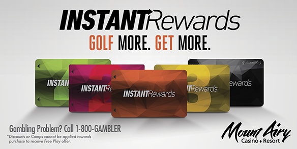Instant Rewards Golf Perks