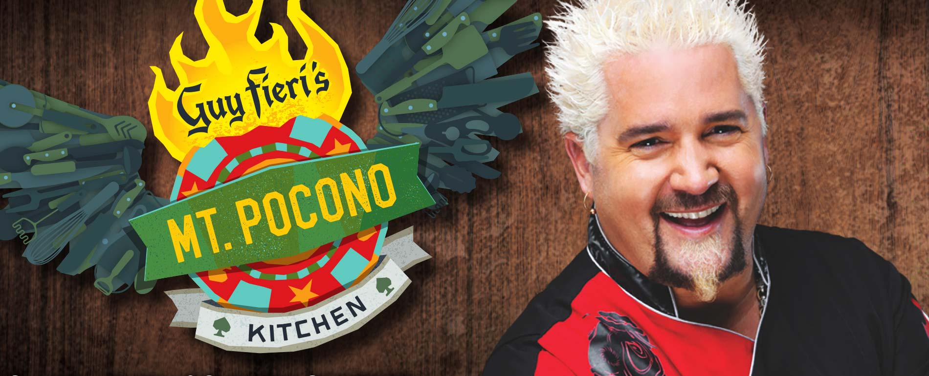Guy Fieri mt pocono kitchen