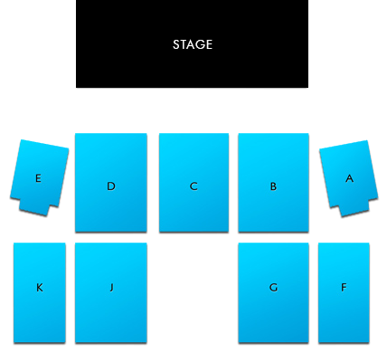 Outdoor Summer stage seating chart layout