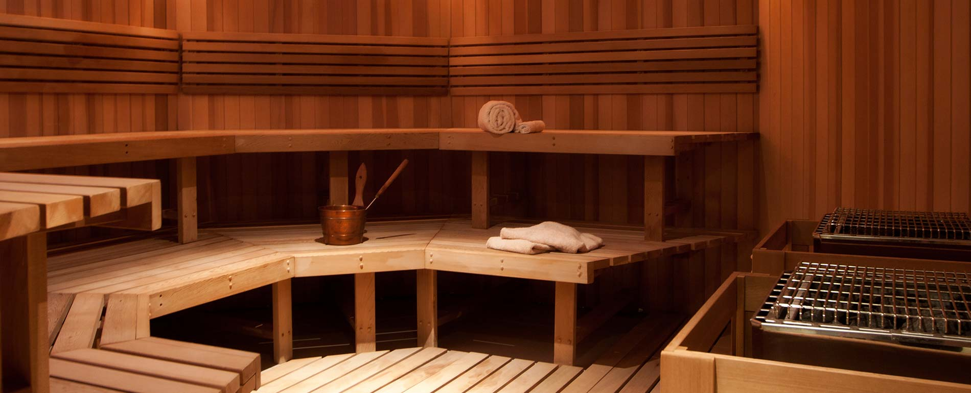 Pocono Spa sauna room