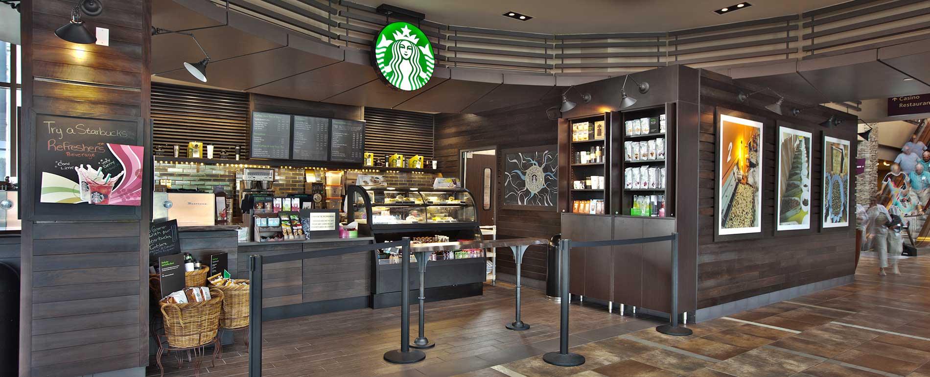 Pocono Starbucks
