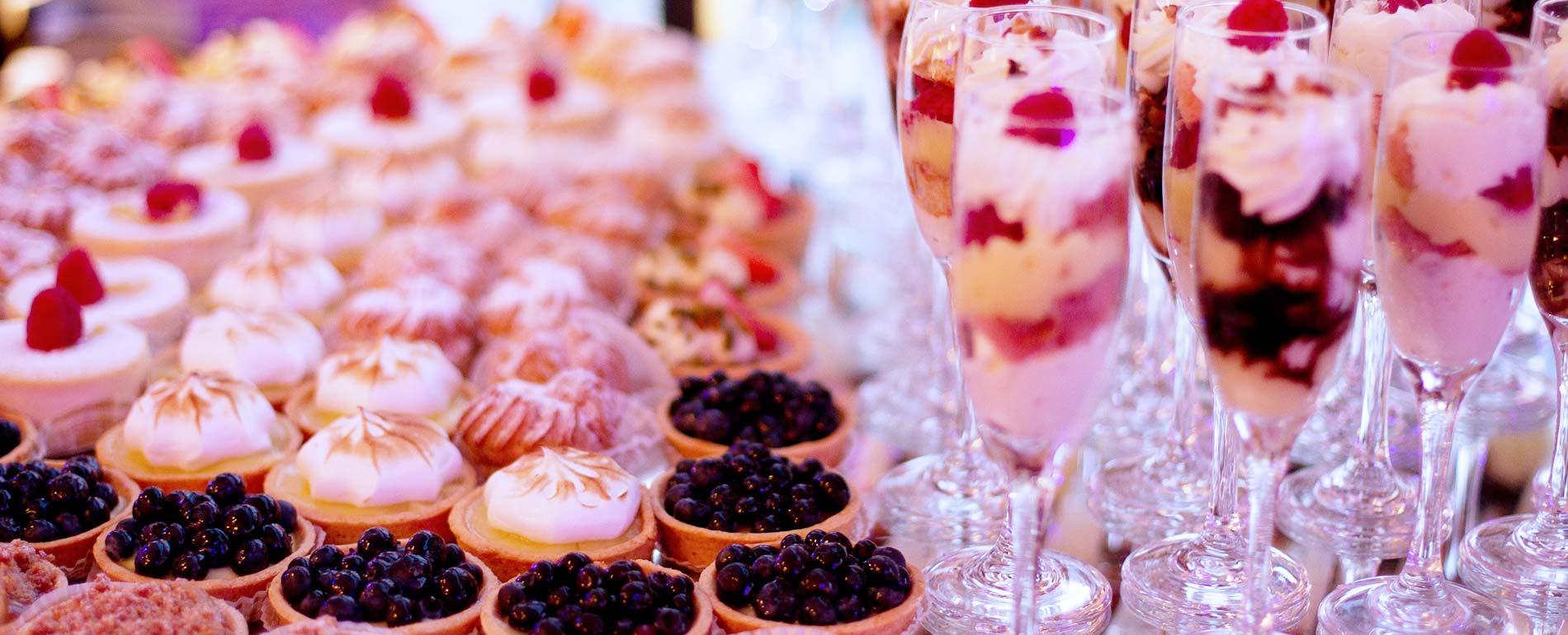 Pocono Wedding food dessert catering
