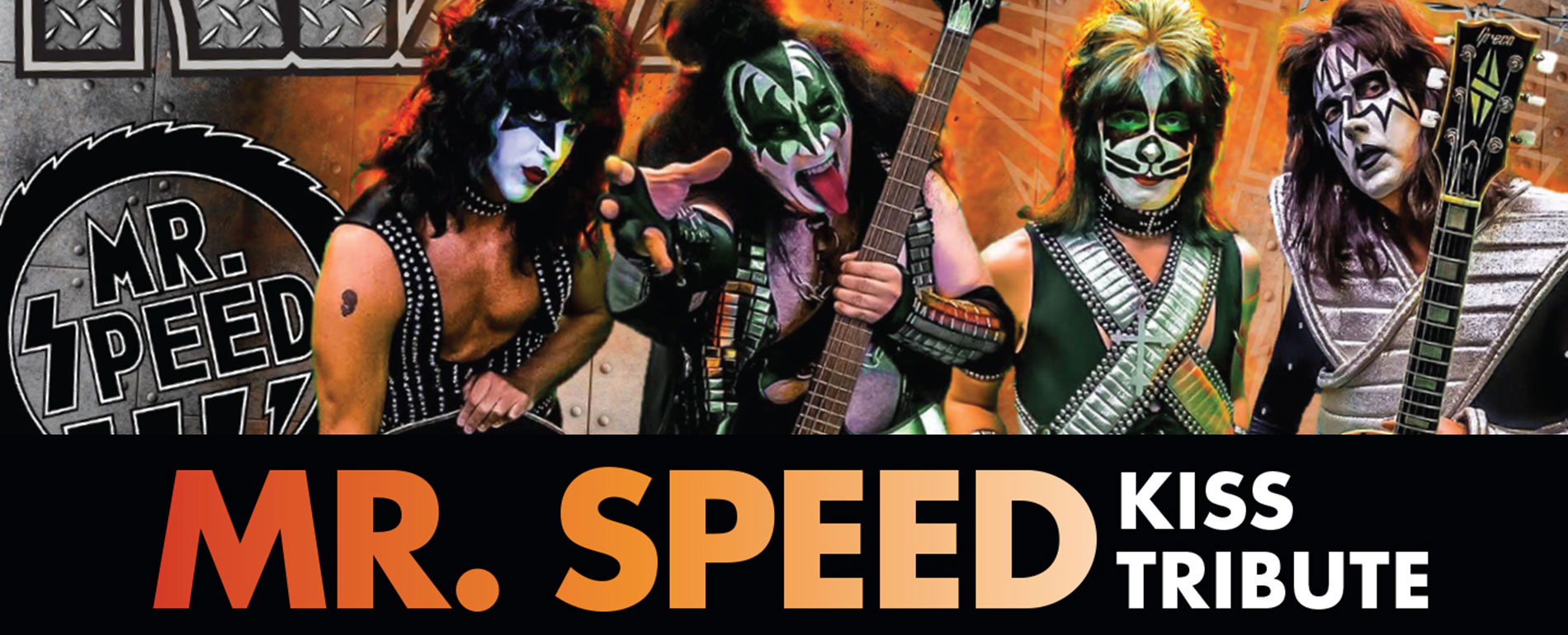 Pocono Concert - Mr. Speed Kiss tribute