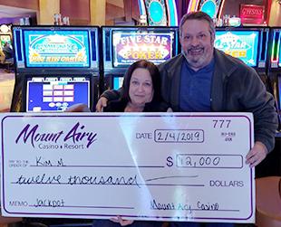 $12,000 Jackpot Winner