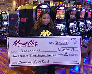 $10,315 Jackpot Winner