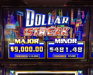 Dollar Streak Jackpot Winner