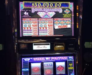 Double Diamond High Limit Slot Jackpot