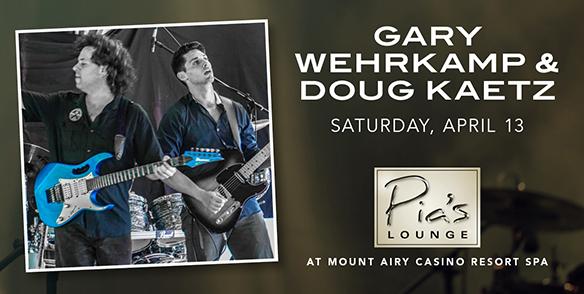 Gary Wehrkamp & Doug Kaetz- Pia's Lounge Entertainment - pocono events