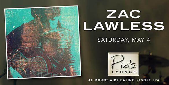 Zach Lawless- Pia's Lounge Entertainment - poconos events