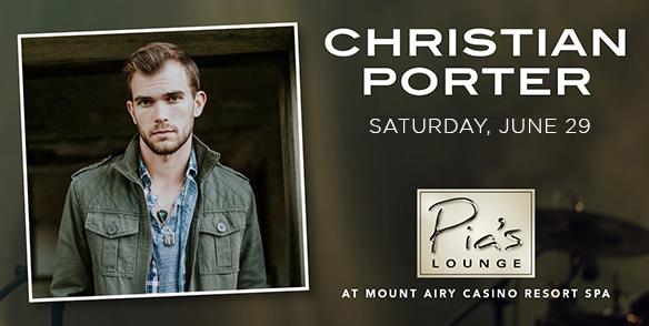 Christian Porter- Pia's Lounge Entertainment - poconos events