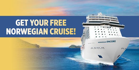 Get Your Free Norwegian Cruise