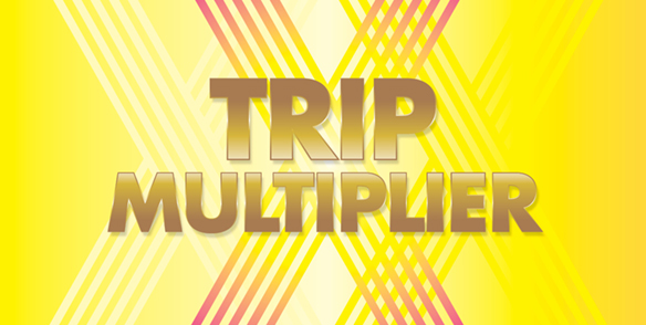 March Trip Multiplier
