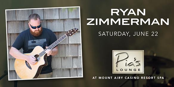Ryan Zimmerman - Pia's Lounge Entertainment - pocono events