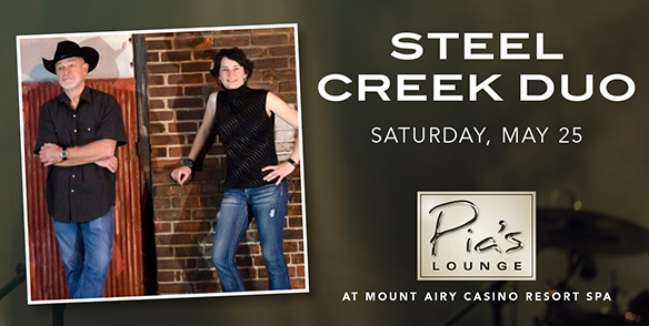 Steel Creek Duo - Pia's Lounge Entertainment - poconos events