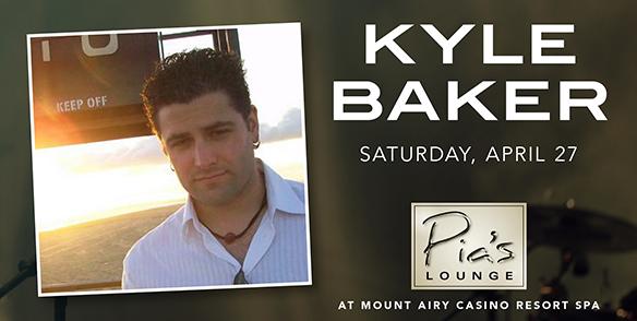 Kyle Baker - Pia's Lounge Entertainment - pocono events