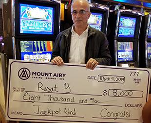 $8,000 Jackpot