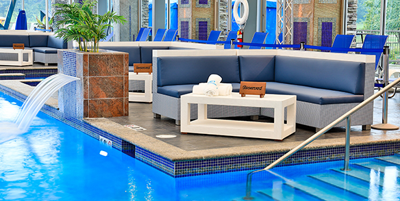 Get Wet Ultra Pool Day bed Package Special Pocono