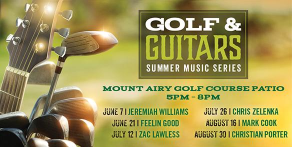 GOLF & GUITAR'S SUMMER MUSIC SERIES