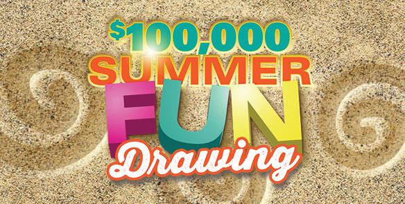 $100,000 Summer Fun Drawing