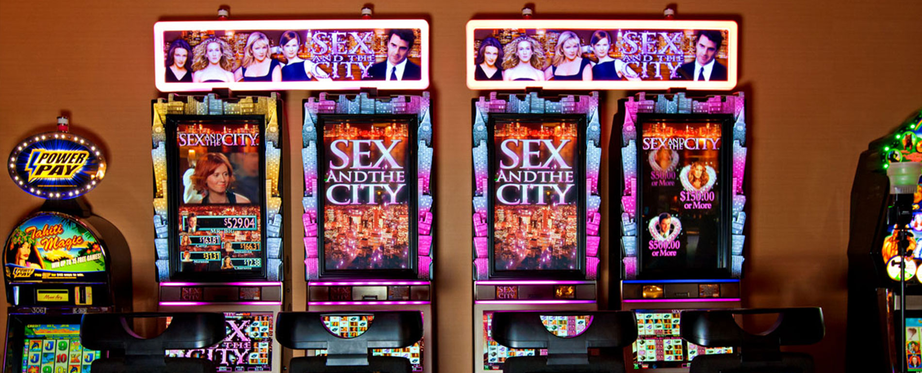 sex and the city PA slots