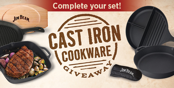 FREE CAST IRON COOKWARE SET GIVEAWAY