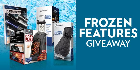 Frozen Features Giveaway