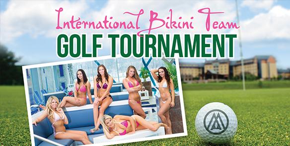 International Bikini Team Golf Tournament