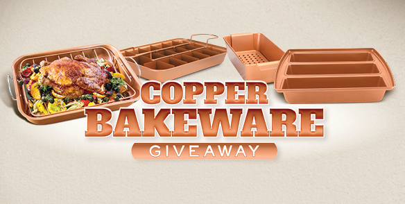Copper Bakeware Giveaway