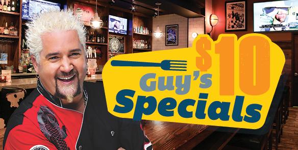 Guy's $10 Specials