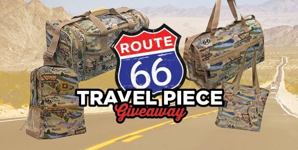 Route 66 Travel Piece Giveaway