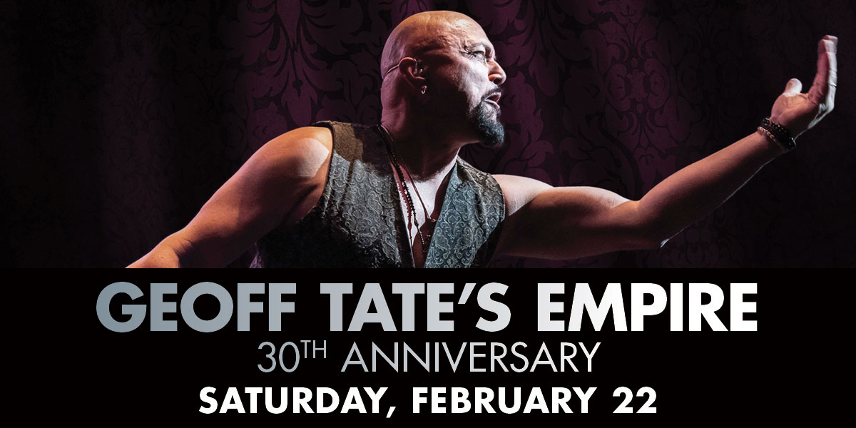 Geoff Tate's Empire 30th Anniversary