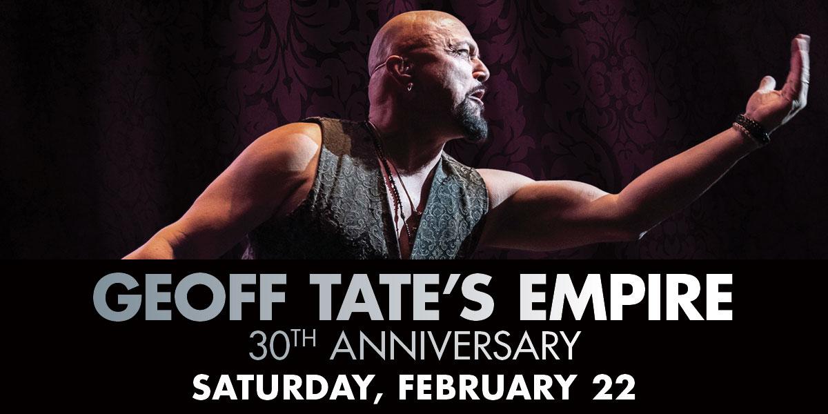 Geoff Tate's Empire 30th Anniversary