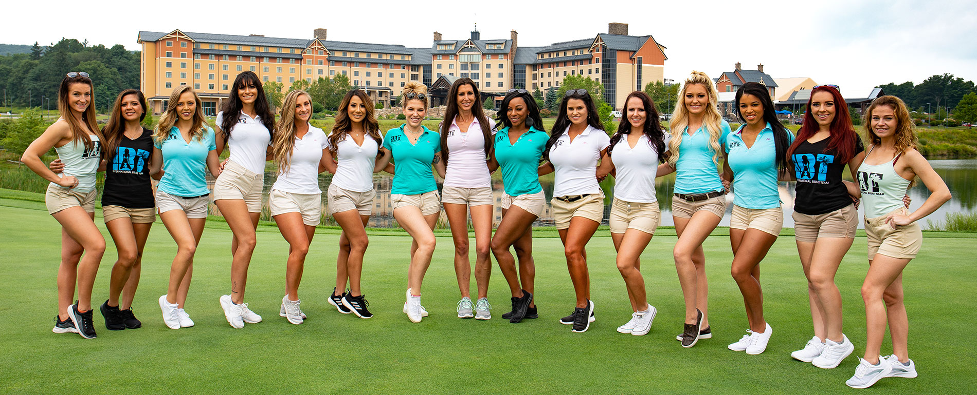 International Bikini Team Golf Tournament - Pocono Golf