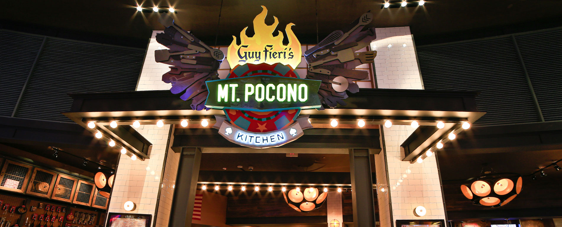 mount Poconos Restaurant Dining - Guy Fieri Mt Ponoco Kitchen