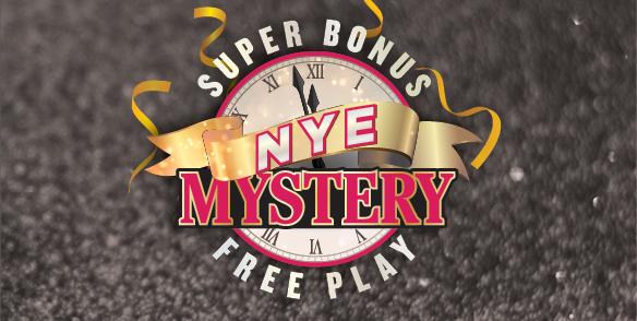 Super Bonus NYE Mystery Free Play